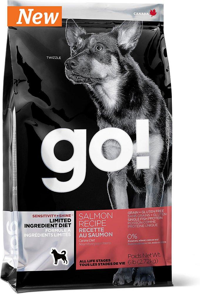 Petcurean Go! Sensitivity + Shine Limited Ingredient Diet Salmon Recipe Grain-Free Dry Dog Food 6lbs