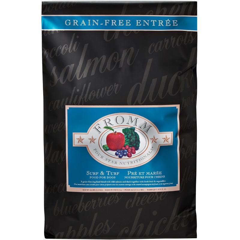 Fromm Four-Star Nutritionals Grain-Free Surf & Turf Formula Dry Dog Food 26lbs