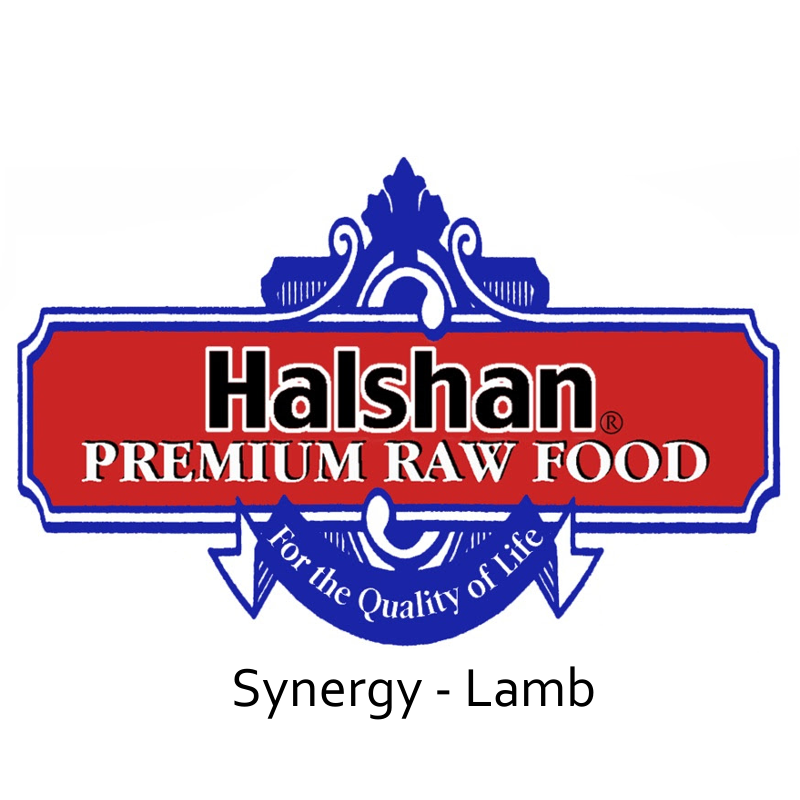 Halshan Synergy Lamb Raw Frozen Dog Food 1lbs
