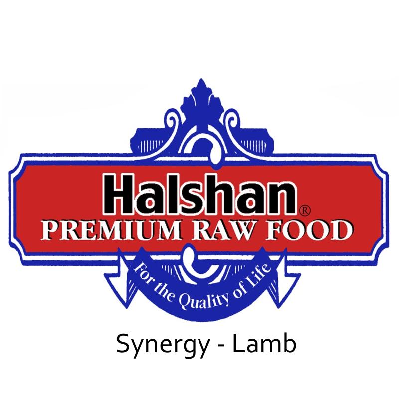 Halshan Synergy Lamb Raw Frozen Dog Food 1lbs