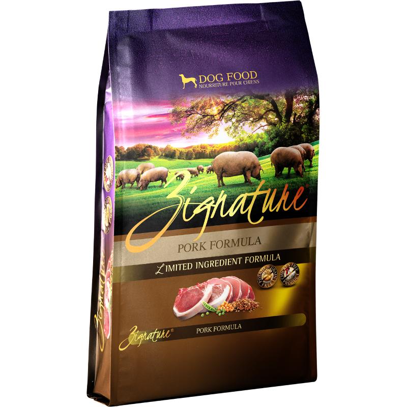 Zignature Grain-Free Pork Limited Ingredient Formula Dry Dog Food 27lbs