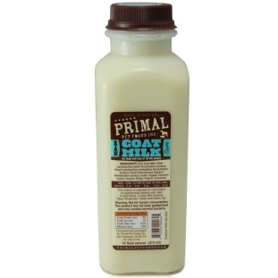 Primal Raw Goat Milk Raw Frozen Dog & Cat Food 16z