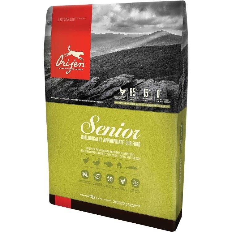Orijen Senior Grain-Free Dry Dog Food 25lbs