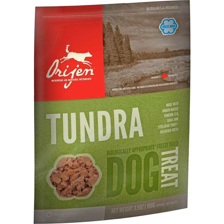 Orijen Tundra Freeze Dried Grain-Free Dog Treats 3.5z