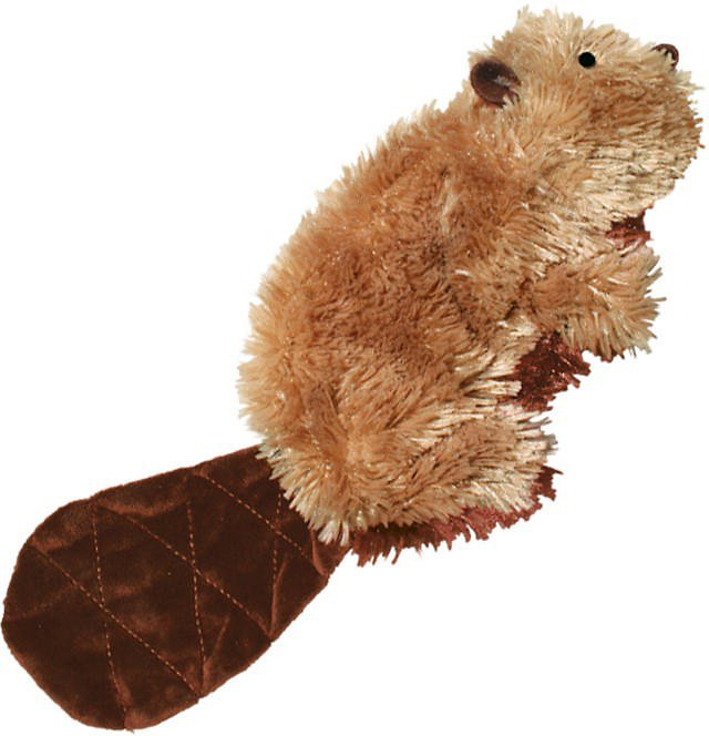 KONG TOY Plush Beaver Dog LG