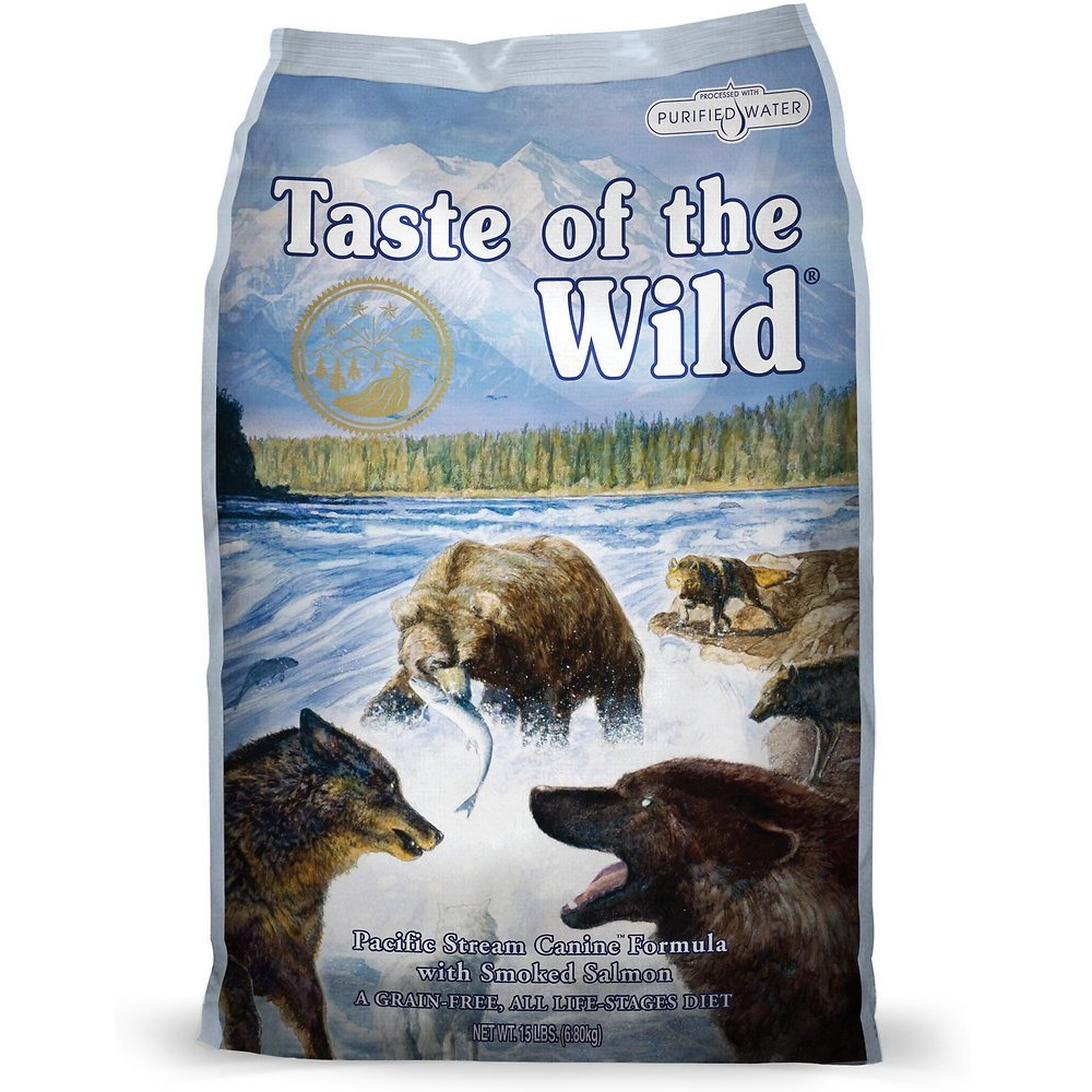 Taste of the Wild Pacific Stream Dry Dog Food 15lbs