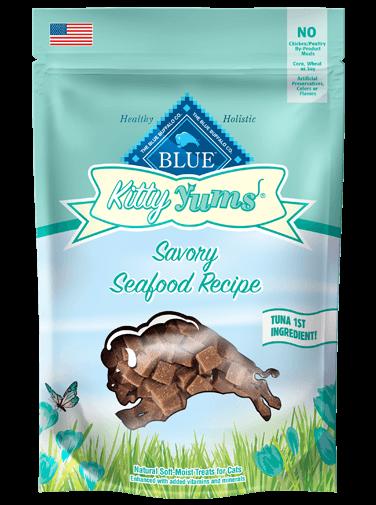 Blue Buffalo Kitty Yums Savory Seafood Recipe Cat Treats 2z