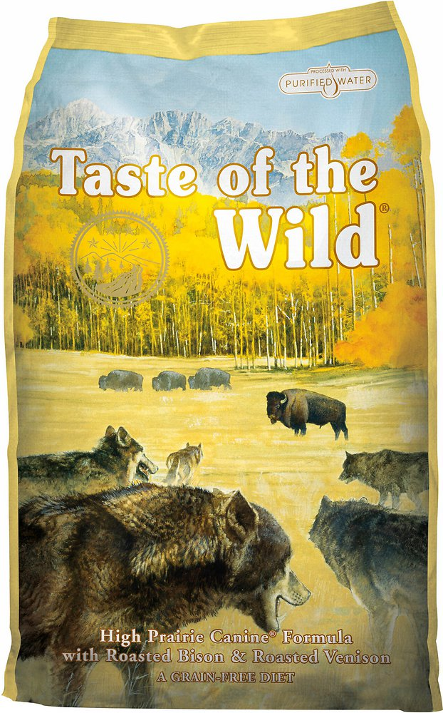 Taste of the Wild High Prairie Dry Dog Food 15lbs