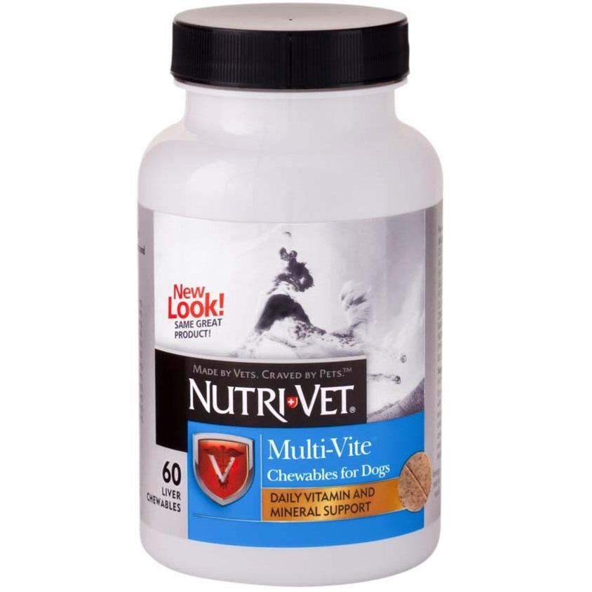 Nutri-Vet Multi-Vite Dog Chewables 60 Count