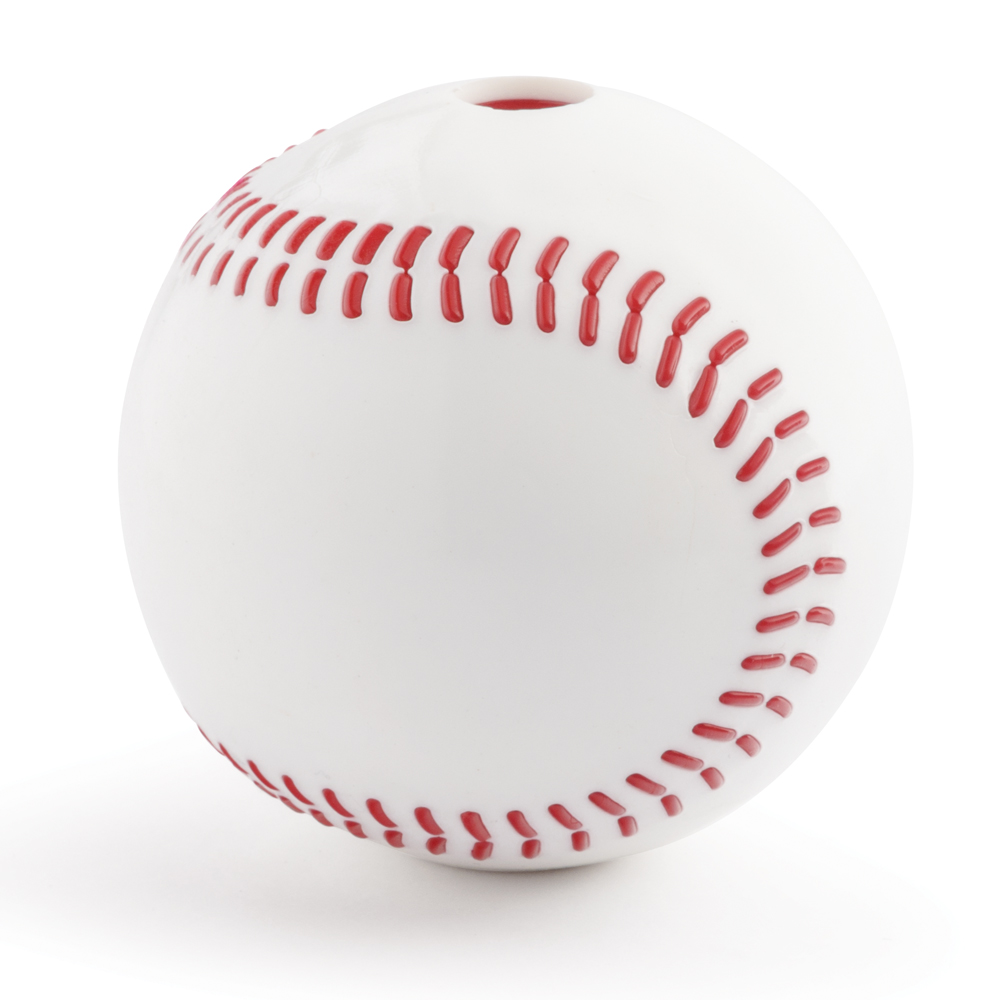 Planet Dog Orbee-Tuff Baseball Dog Toy, 6