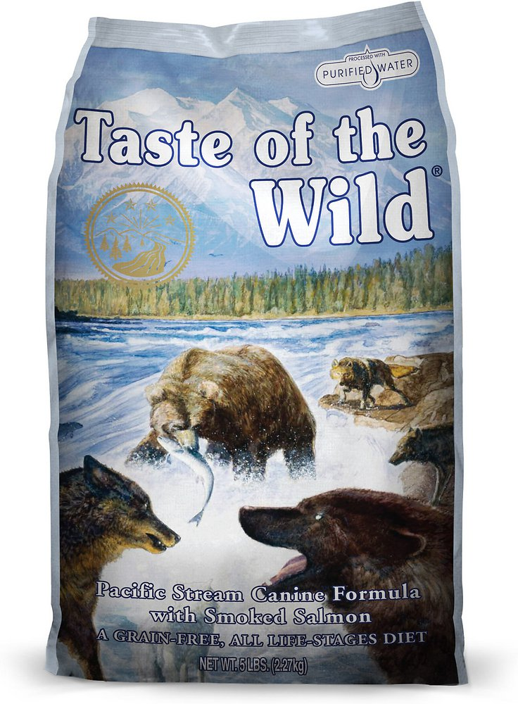 Taste of the Wild Pacific Stream Dry Dog Food 5lbs