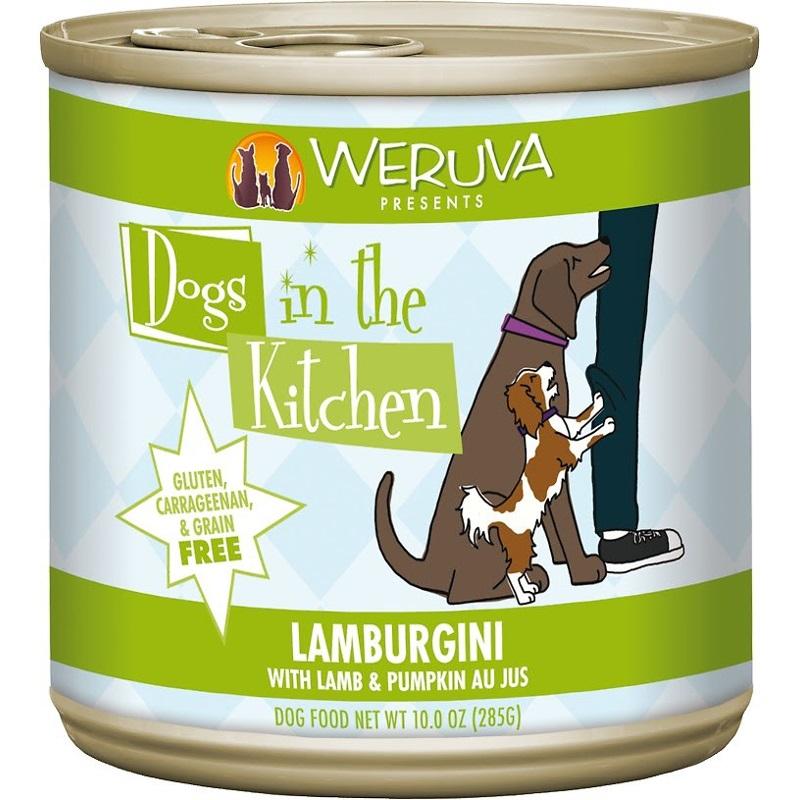 Weruva Dogs in the Kitchen 'Lamburgini' Lamb & Pumpkin Au Jus Grain-Free Canned Dog Food 10z, 12