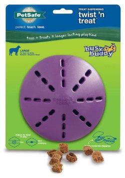 Petsafe Busy Buddy Twistn Treat Dog Toy - Large
