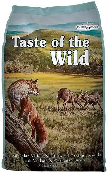 Taste of the Wild Appalachian Valley Small Breed Grain-Free Dry Dog Food 14lbs