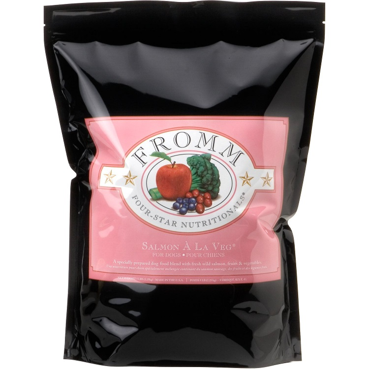 Fromm Four-Star Nutritionals Salmon A La Veg Dry Dog Food 30lbs