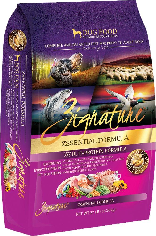 Zignature Grain-Free Zssential Multi-Protein Formula Dry Dog Food 27lbs