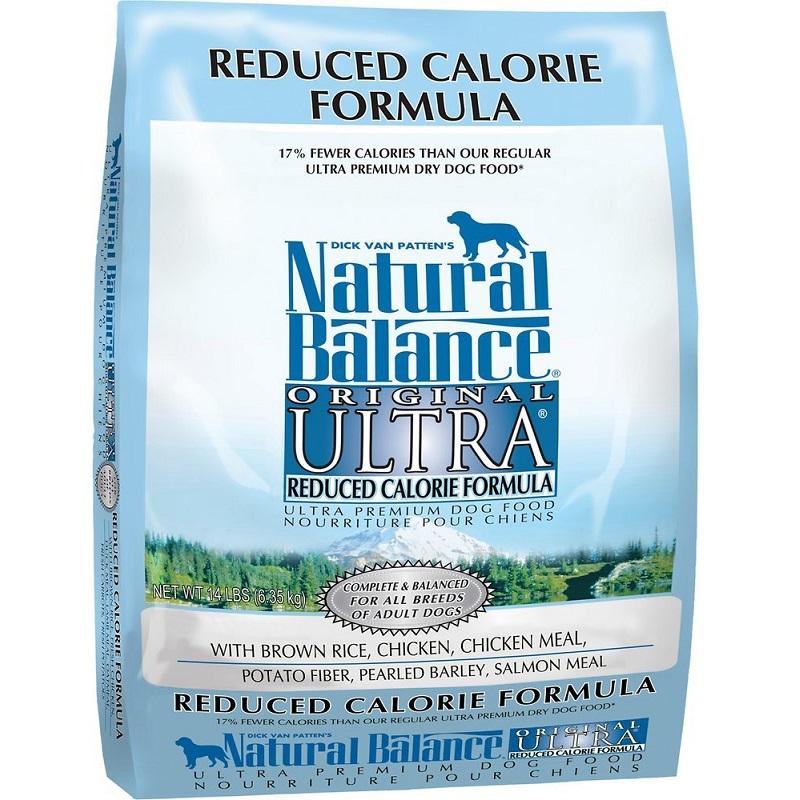 Natural Balance Original Ultra Reduced Calorie Formula Dry Dog Food 15lbs