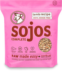 Sojos Complete Lamb Recipe Freeze Dried Dog Food 8lbs