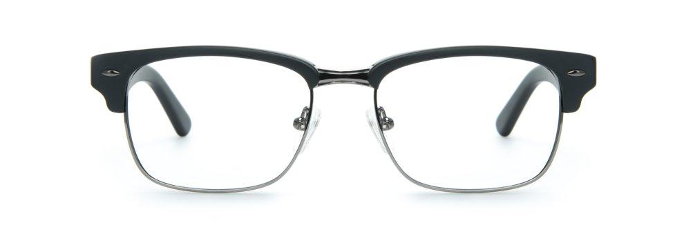 Ernest Hemingway Glasses Matte Black