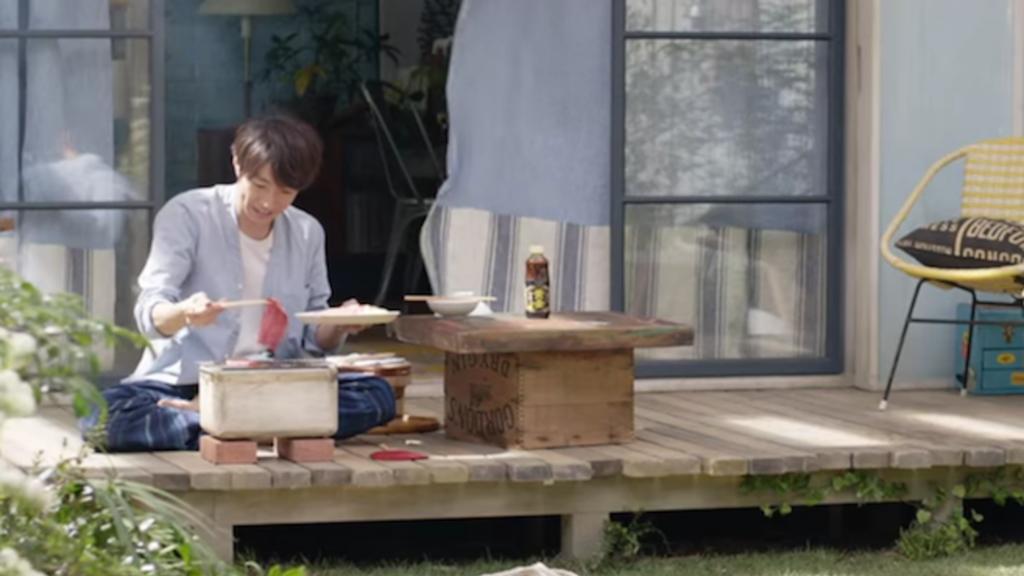 【日本廣告】相葉雅紀化身燒肉男!