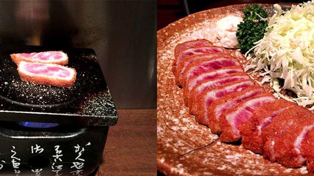 【東京人氣美食】1300円食吉列和牛