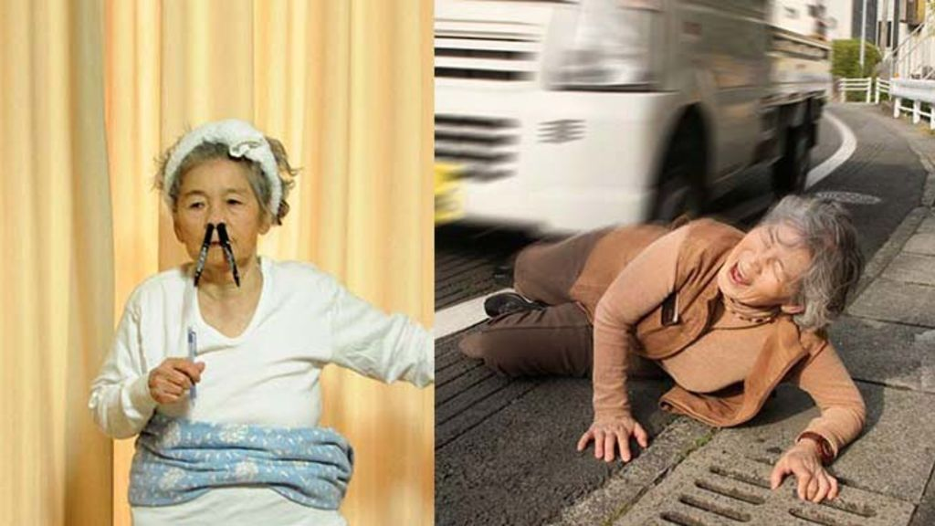 【搞笑系列】87歲日本老婆婆做攝影大師