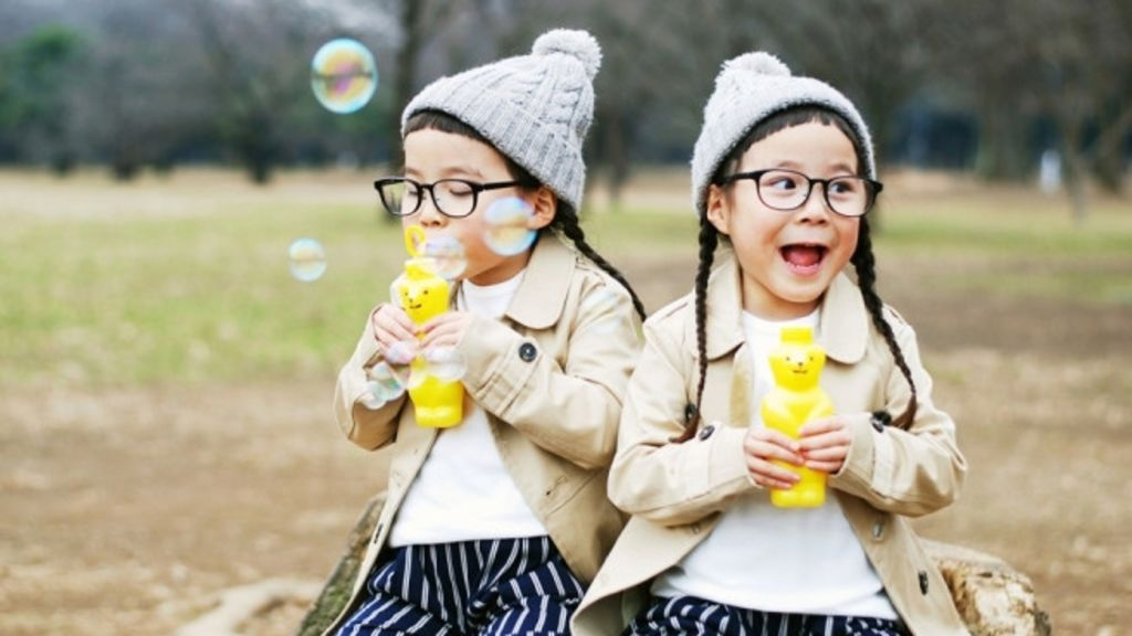 日本潮爆雙胞胎!