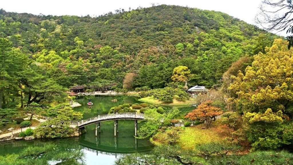 【遊記】日本.香川.栗林公園