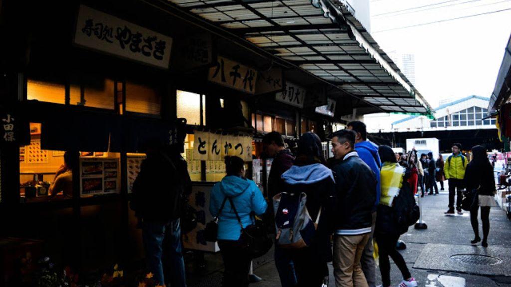 【日本。東京】築地市場-早起大考驗及場內市場之介紹
