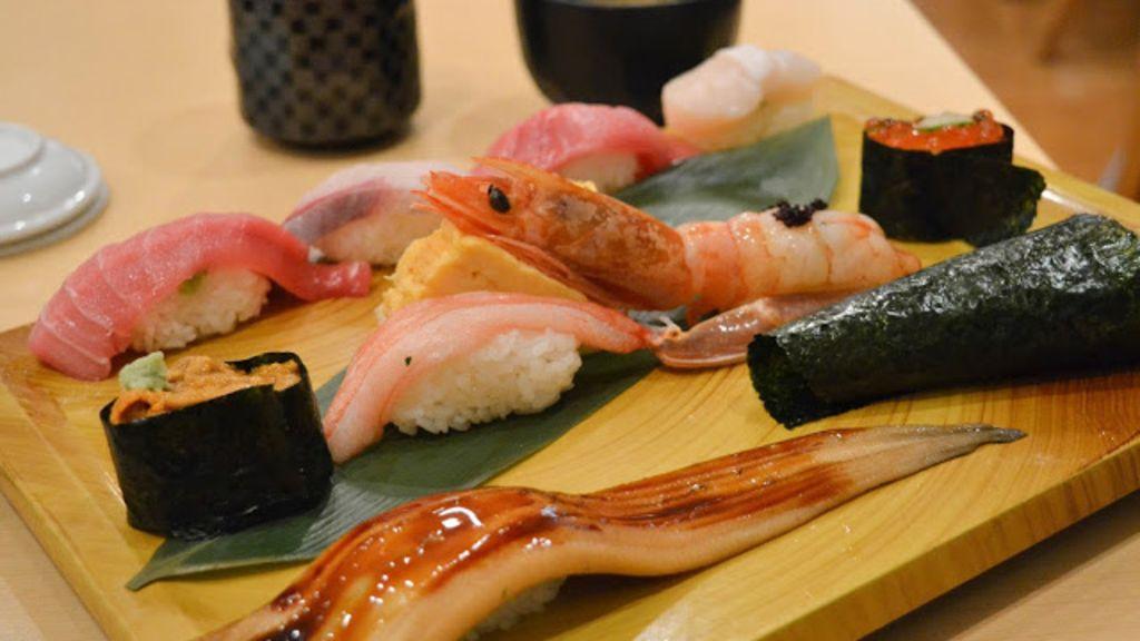 【日本。東京】平價抵食超人氣梅丘寿司の美登利
