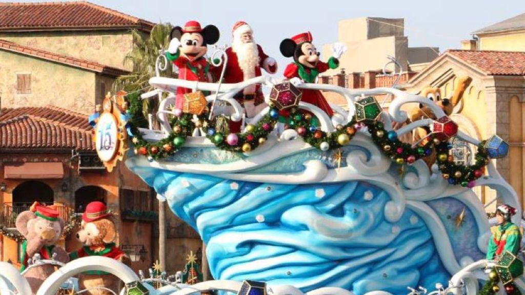 又到聖誕~東京迪士尼+迪士尼海洋率先試玩!