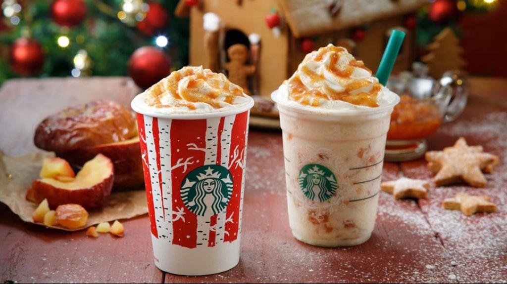 【Starbucks冬季限定第3彈】甜蜜蜜烤蘋果特飲