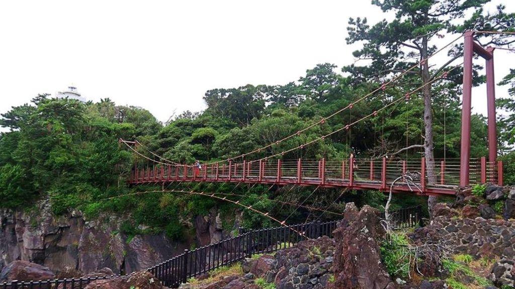 【伊豆2日1夜點玩好?(上)】去「城崎海岸」漫步行吊橋!