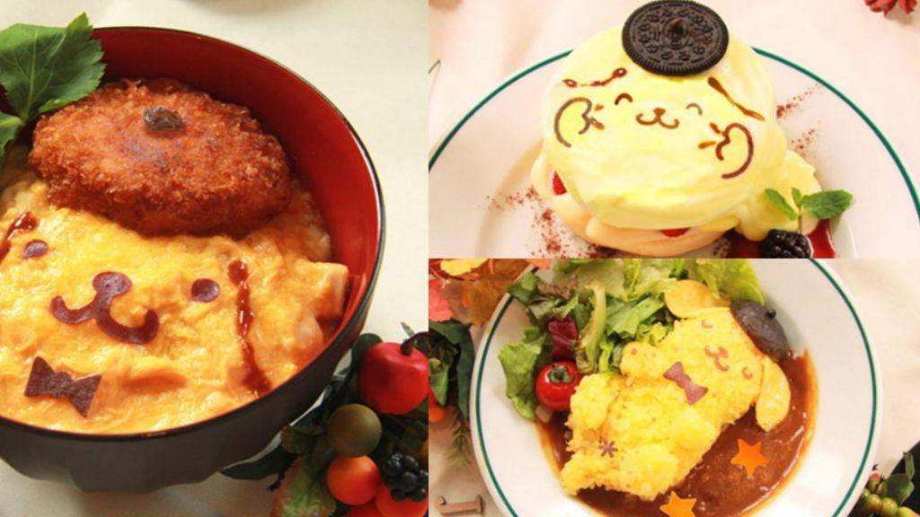 布丁狗最新限定cafe!限定menu勁可愛!