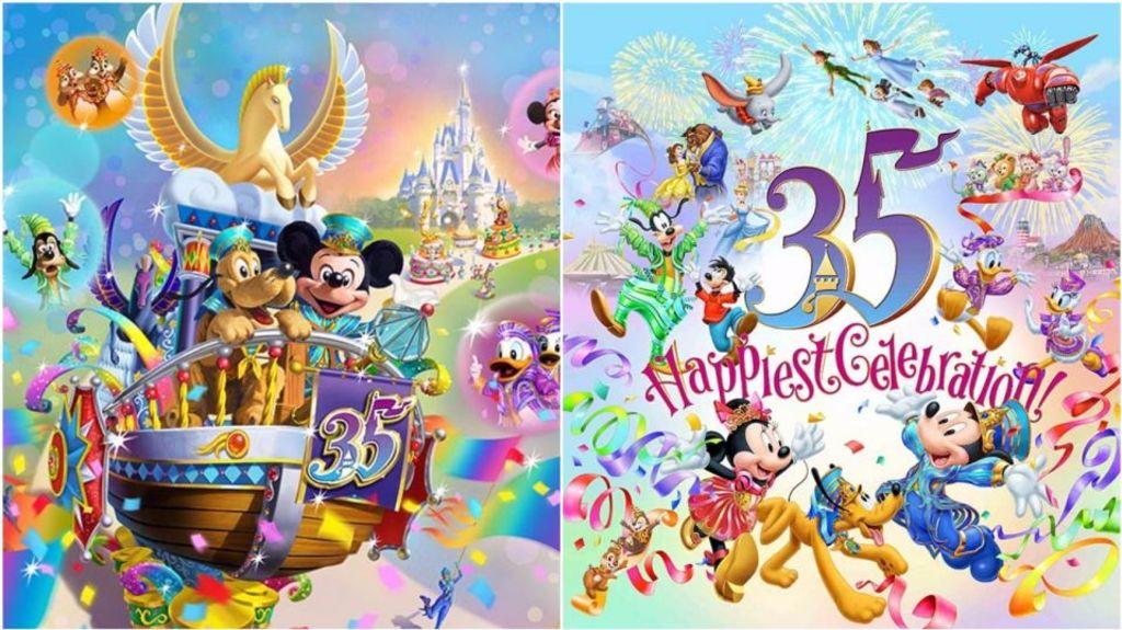 東京迪士尼35歲生日!9個慶祝活動介紹