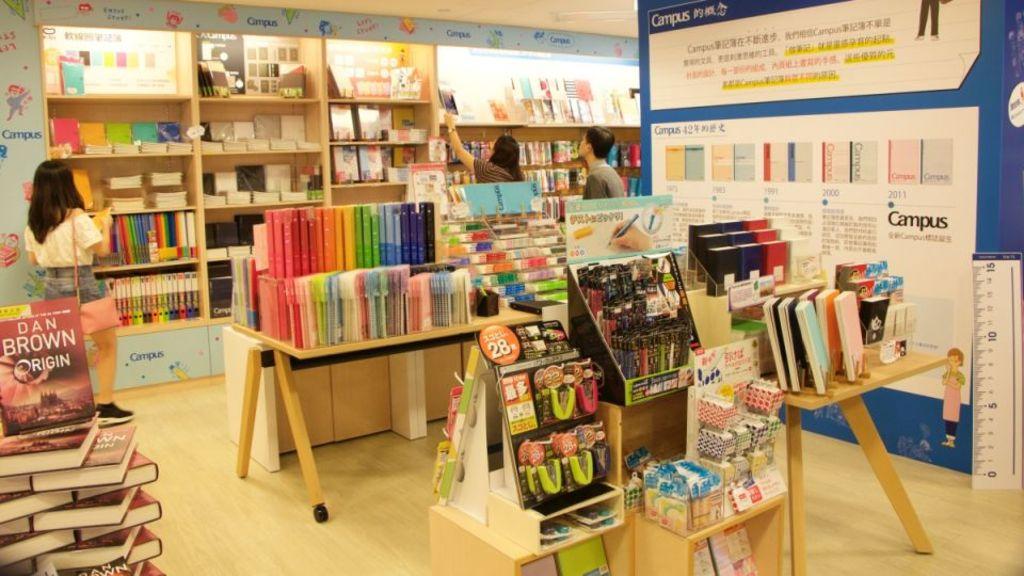 日本百年文具品牌KOKUYO 開設全港首間Campus POP-UP Store