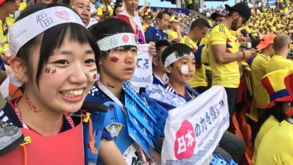 不輸給一眾日本隊球員  日本球迷獲傳媒激讚「最佳客人」