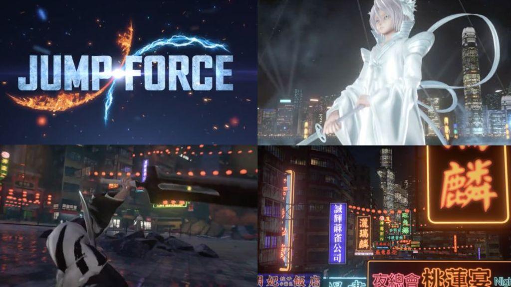 《JUMP FORCE》新舞台「香港」最新片段公開!