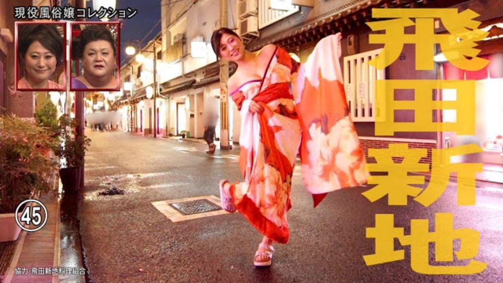 日本電視節目披露大阪風俗文化飛田新地