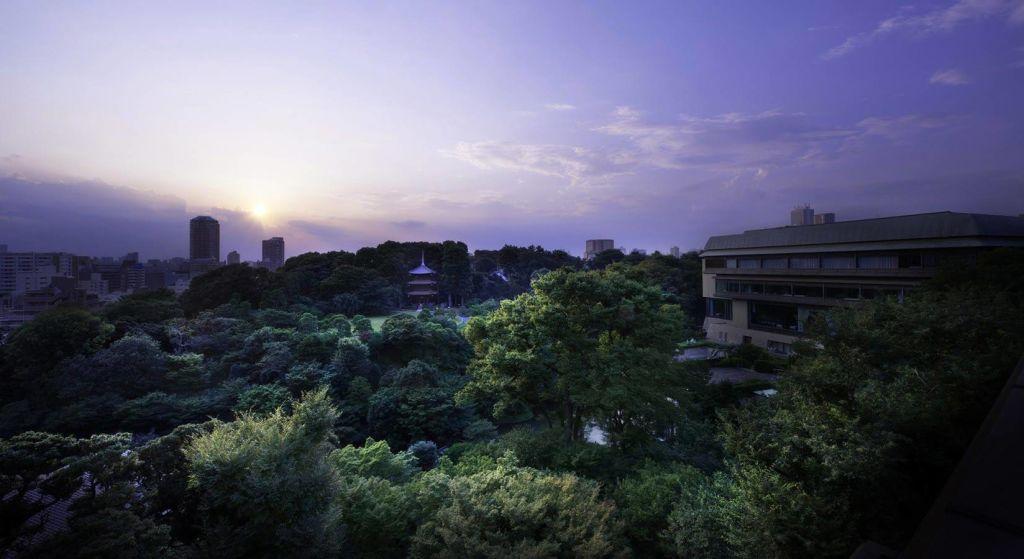 東京椿山莊大酒店 頂級住宿、瀑布、溫泉、庭院