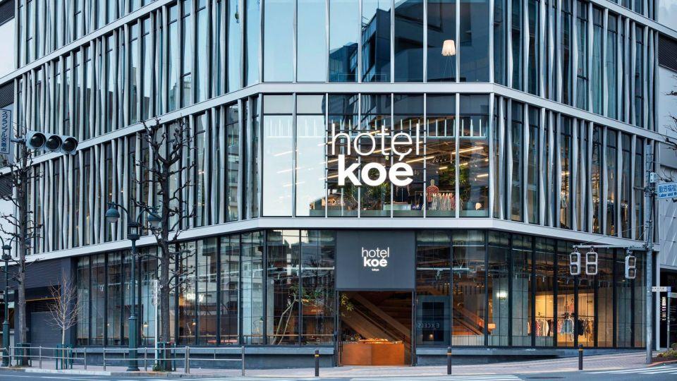 2018年年初開業!東京澀谷 時裝品牌的概念酒店:東京之聲酒店(Hotel Koé Tokyo)