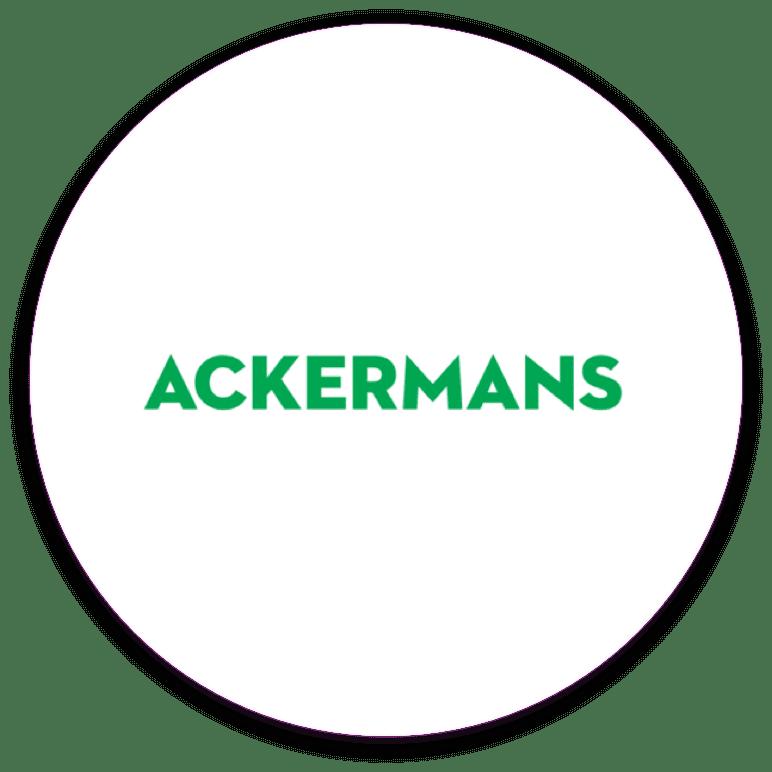 Ackermans client badge