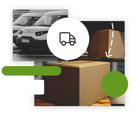 Delivery integrations, and fulfullment section background image.