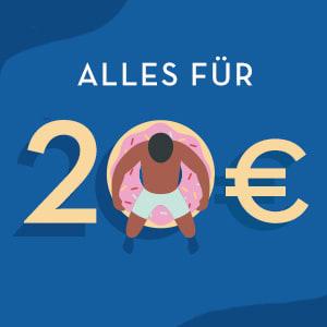 Alles 20 Euro