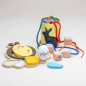 Kreatives Spielzeug zum Lernen & Experimentieren