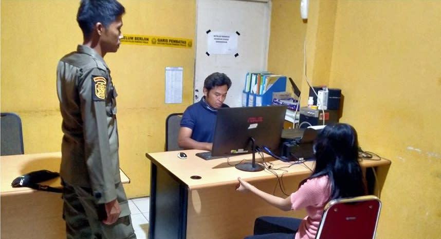 #pasangan mesum, #satpol pp padang Limbago.id