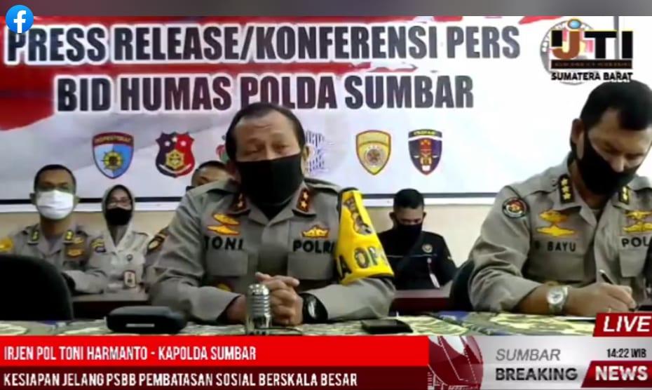 #berita sumbar, #corona sumbar, #psbb sumbar Limbago.id