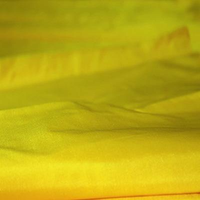 Pure Silk Fabric-45 grms-Bright Yellow mulberry Silk