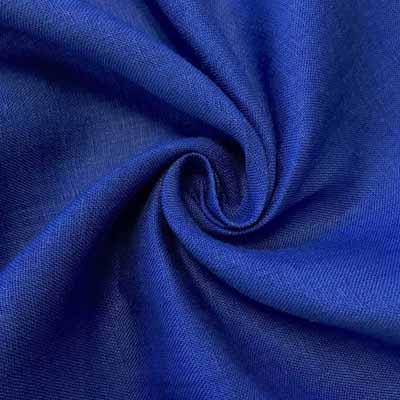 Linen Fabric Royal Blue