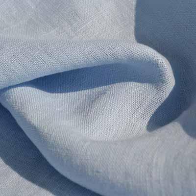 linen Fabric Sky blue